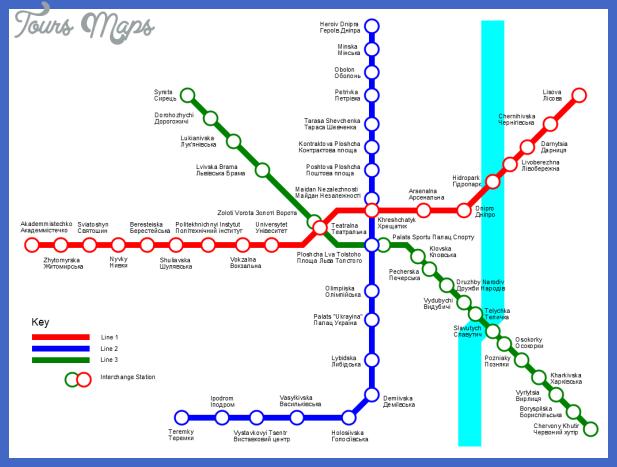 ukraine metro map  4 Ukraine Metro Map