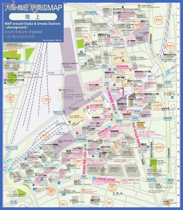 umeda map 4 Henderson Subway Map