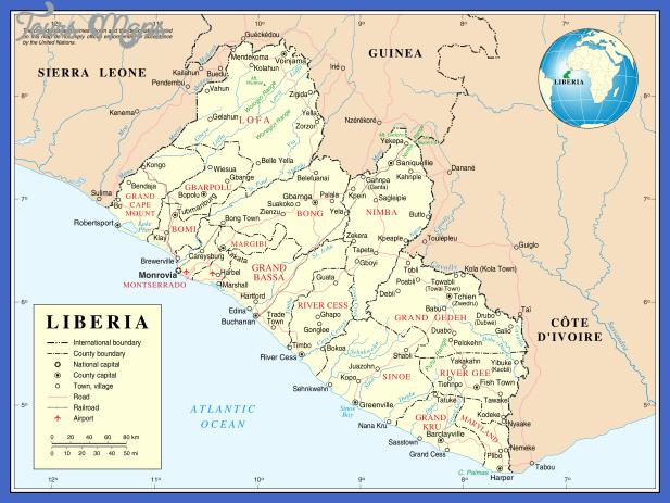 un liberia Rwanda Subway Map