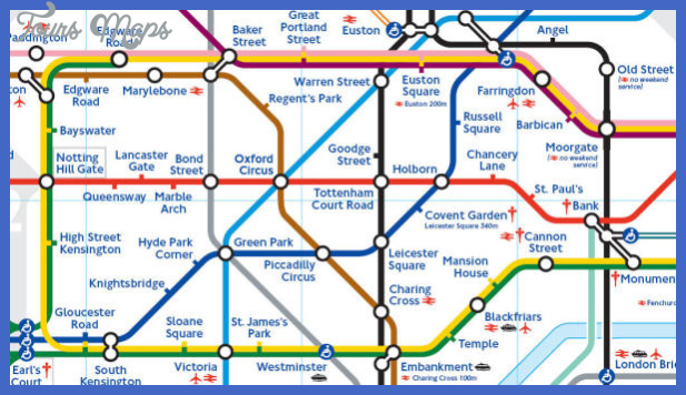 underground map london Richmond Subway Map
