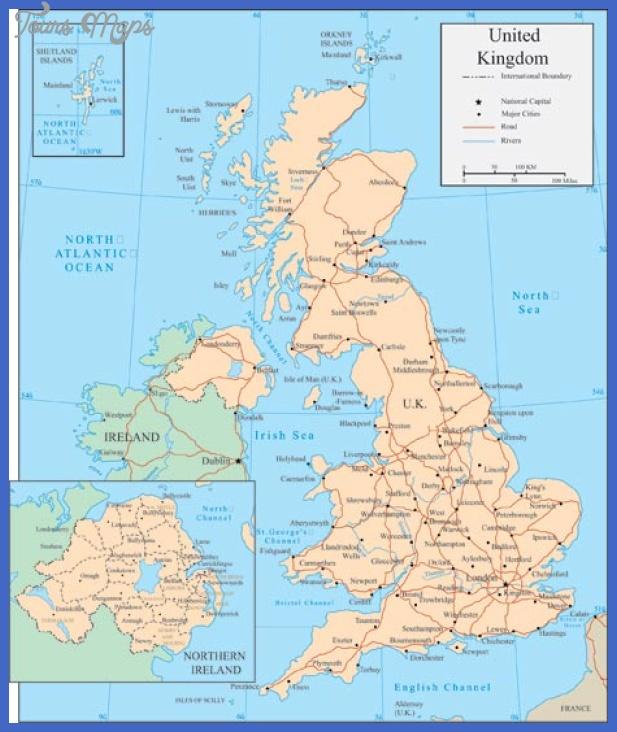 united kingdom map 2 United Kingdom Map
