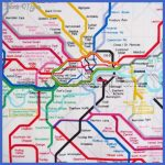 Tube Network Map Fabric 1 Yard United Kingdom UK Train SUBWAY ...