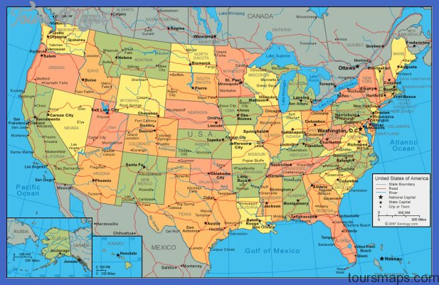 united states map United States Map Tourist Attractions