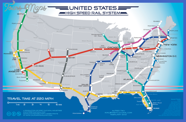 us high speed rail system by firstcultural 2013 02 03 Fresno Subway Map