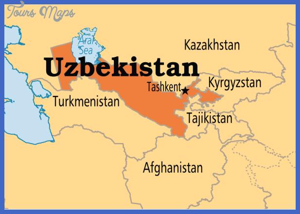 uzbe mmap md Uzbekistan Map