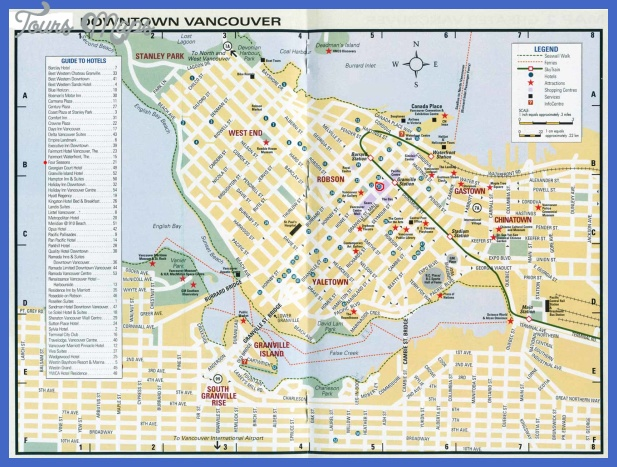 vancouver map  0 Vancouver Map