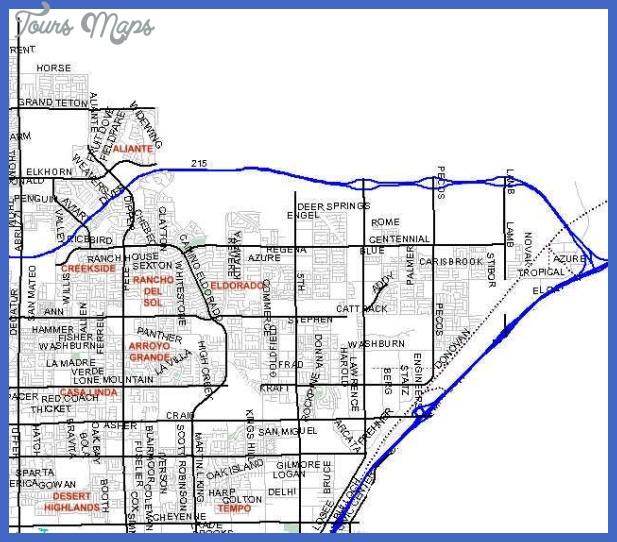 vegas mls 103 North Las Vegas Metro Map