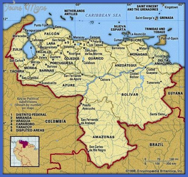 venezuela map Venezuela Map