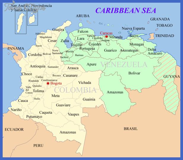 venezuela map 2 Venezuela Map