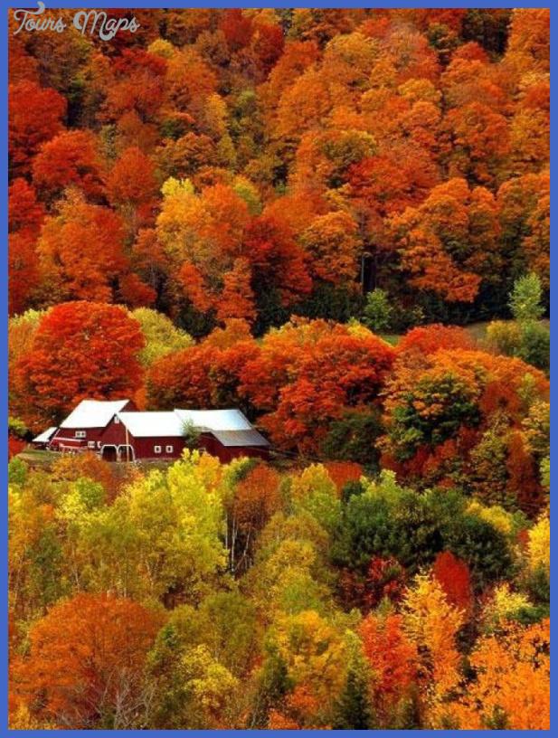 vermont Best US travel destinations in November