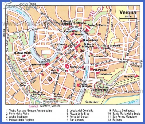 verona map San Bernardino Map Tourist Attractions