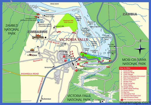 Tourist Attractions, See & Do at Victoria Falls for Zambia and ...