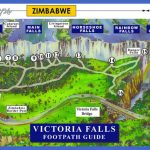 victoria falls footpath guide 150x150 Zimbabwe Map Tourist Attractions