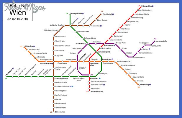 vienna metro map  0 Vienna Metro Map