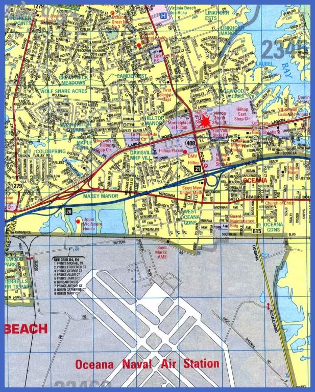Virginia Beach Virginia City Map - Virginia Beach Virginia • mappery