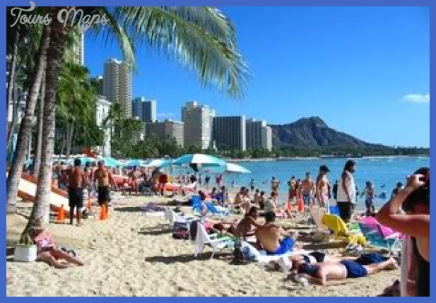 waikiki beach01 Best places in US to vacation