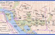 Washington, DC and Arlington, VA Map - Tourist Attractions