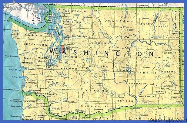 washington 90 Washington Map