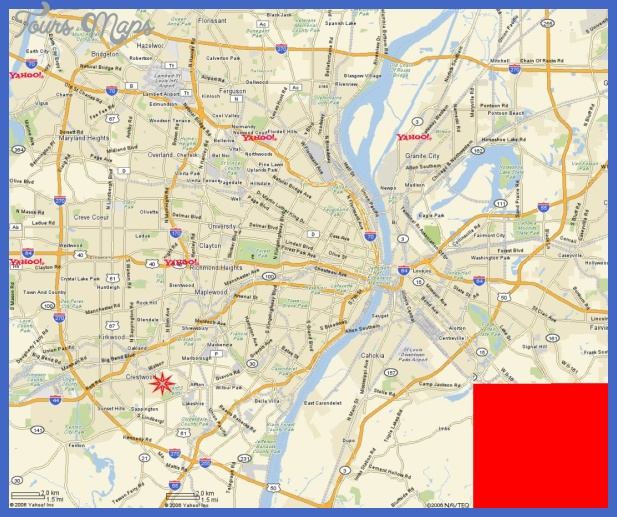 whitecliffpark large yahoomap St. Louis Metro Map
