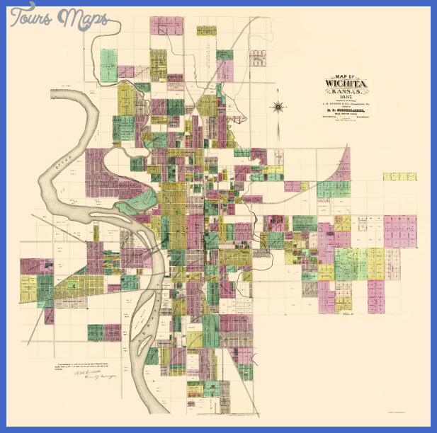 Wichita Map  Map  Travel  Holiday  Vacations