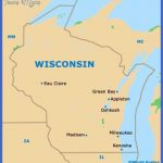 wisconsin wi state map 150x150 Milwaukee Map Tourist Attractions