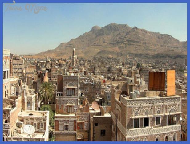 yemen map tourist attractions  0 Yemen Map Tourist Attractions