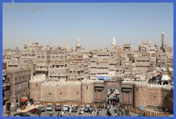 yemen Yemen Map Tourist Attractions