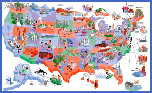 zettwoch usmap United States Map Tourist Attractions