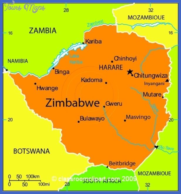 zimbabwe map 31mc Zimbabwe Map