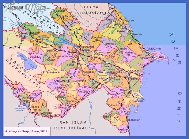 1 map azerbaijan 1991 2009 Azerbaijan Metro Map