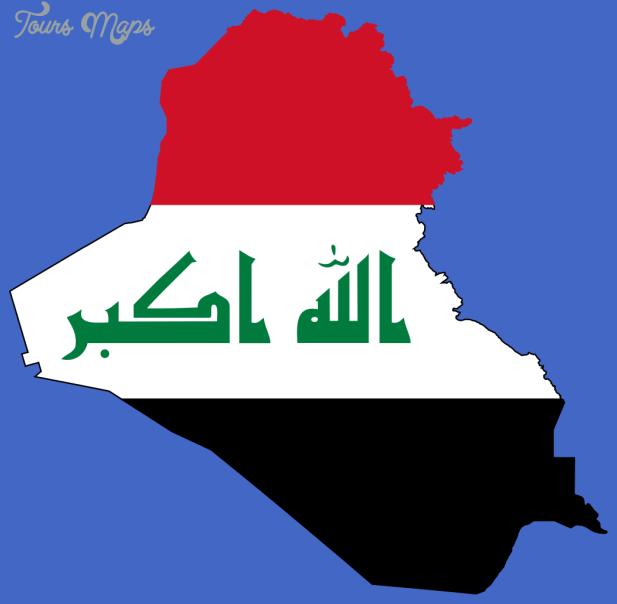 1022px flag map of iraq svg Iraq Map