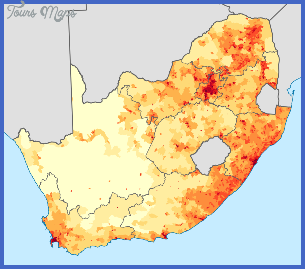 2000px south africa 2011 population density map svg South Africa Subway Map
