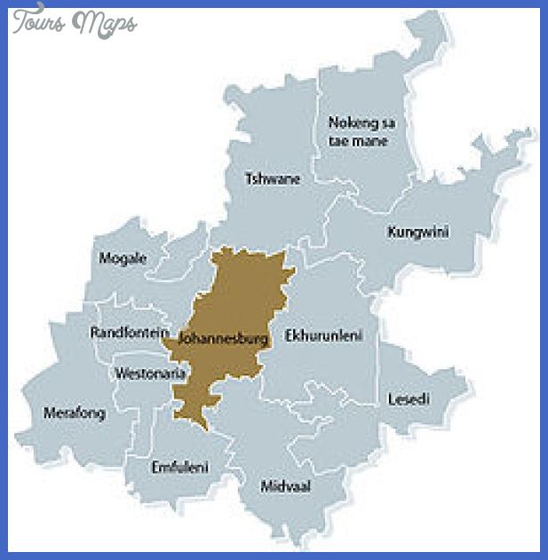 250px gauteng municipality map Johannesburg East Rand Subway Map