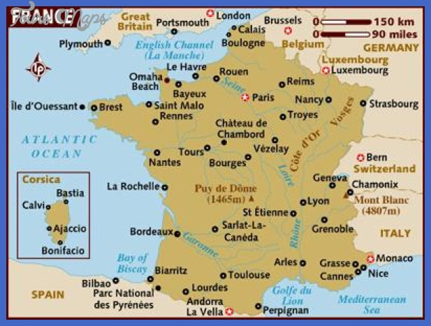 27 map of france Cameroon Metro Map