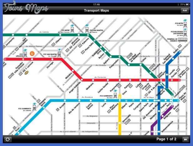 3 2 Buenos Aires Metro Map