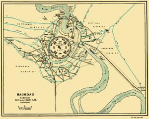 300px baghdad 150 to 300 ah Baghdad Metro Map