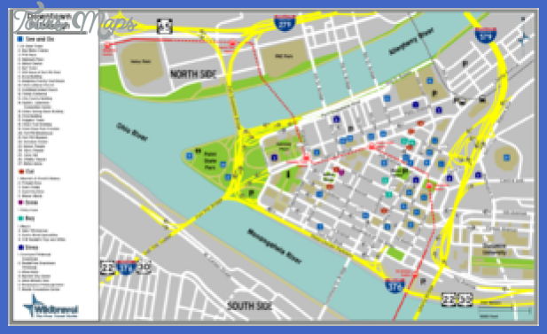300px pittsburgh downtown map png Pittsburgh Subway Map