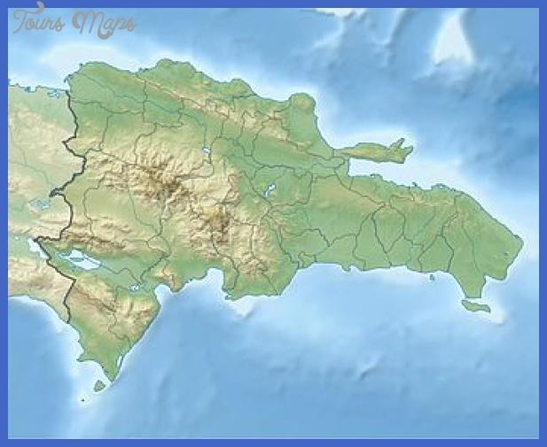 350px dominican republic relief location map Dominican Republic Metro Map