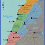 400px lebanon region map 150x150 Beirut Map Tourist Attractions