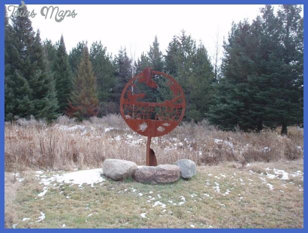 7734603 Moose Lake State Park Map