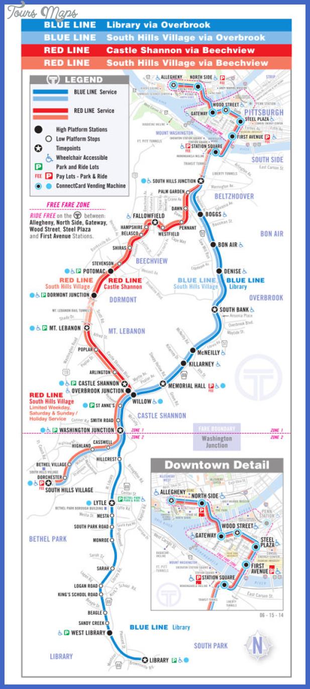 800 mapa metro pittsburgh Pittsburgh Metro Map