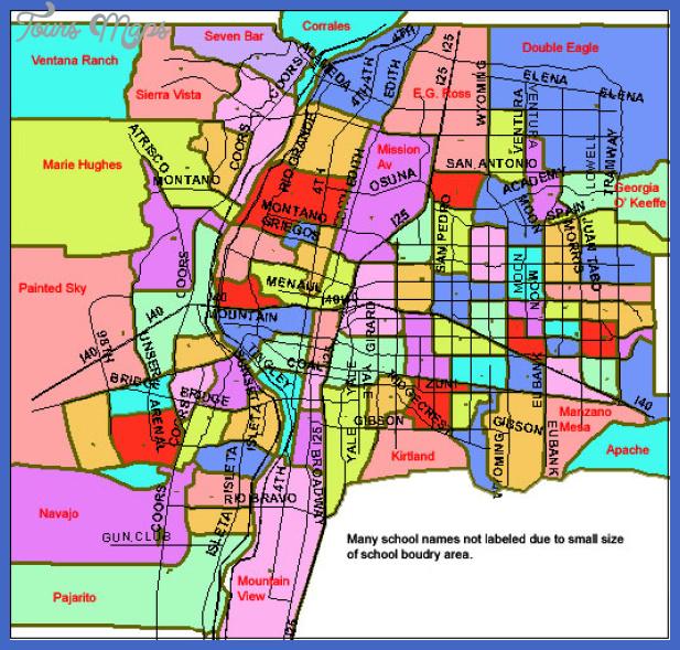 abq elementary schools Albuquerque Metro Map