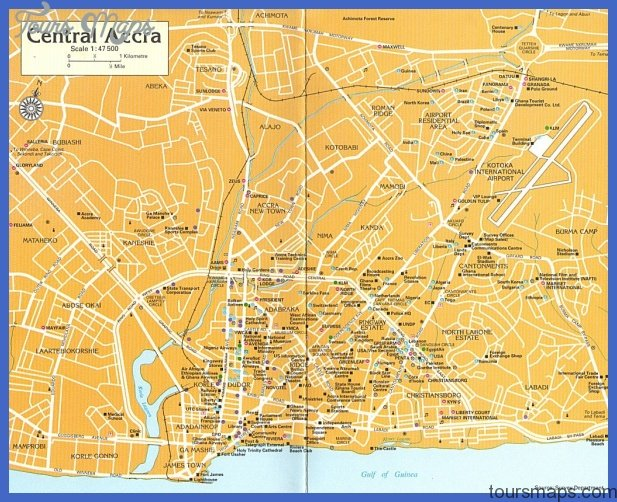 accra map Accra Map