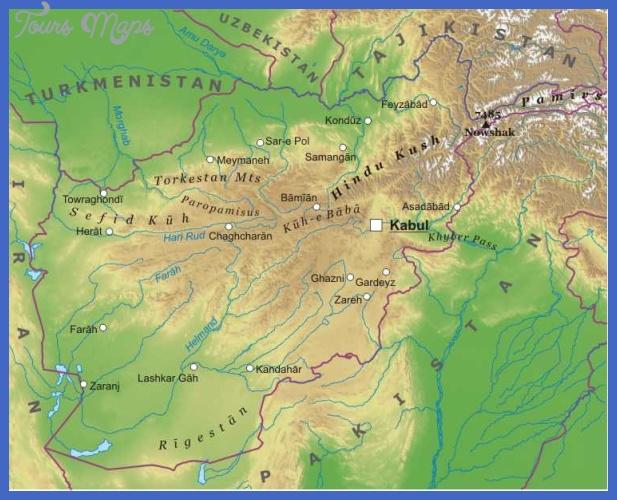 afghanistan Afghanistan Metro Map