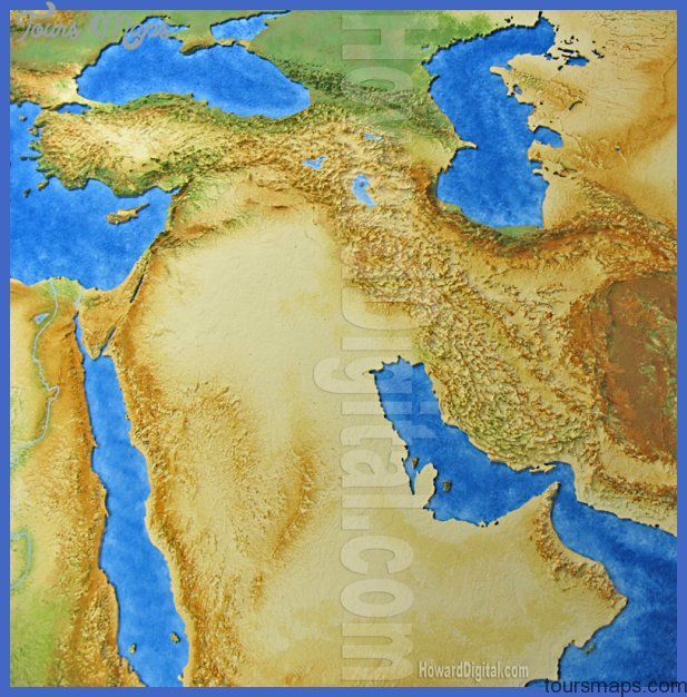africa4 Damman Map Tourist Attractions
