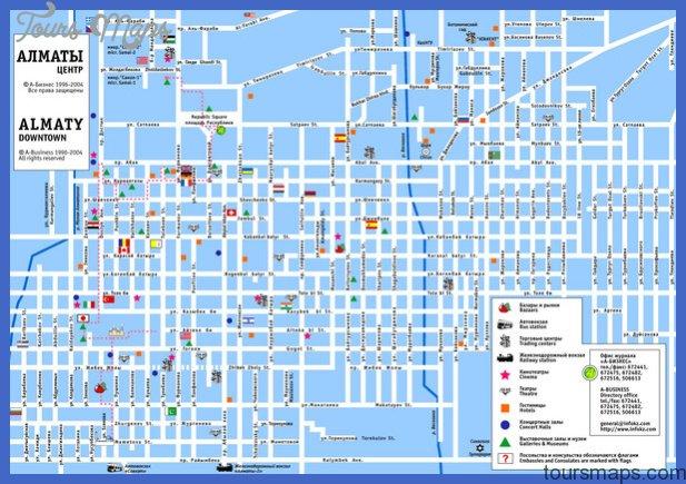 Kazakhstan Metro Map ToursMapscom