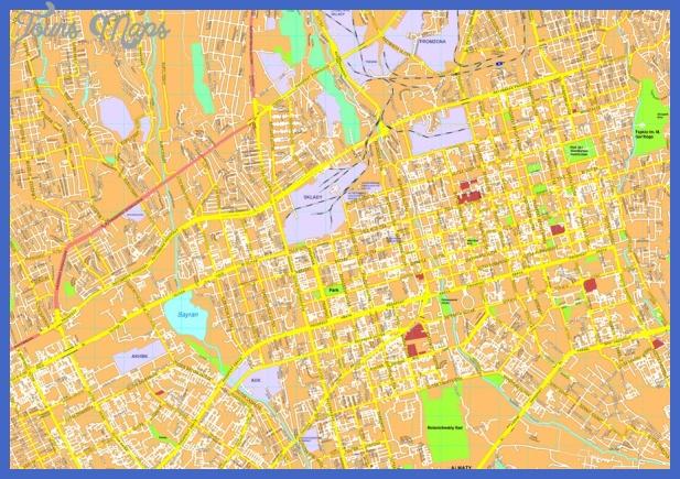 almaty map 900x627 Kazakhstan Metro Map