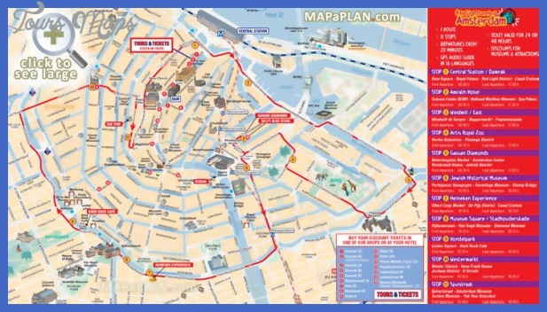 amsterdam top tourist attractions map 06 city sightseeing hop on hop off double decker open top bus tour routes Manchester Map Tourist Attractions