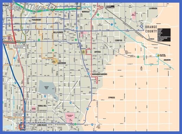 anaheim subway map  0 Anaheim Subway Map