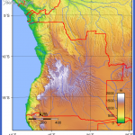 angola topography 150x150 Angola Map